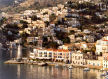 Symi - overlooking Yialos harbour from the east