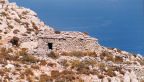 Tilos - at the top of the island's highest mountain, Profitis Ilias