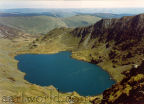 Llyn Cau from the col between Craig Cadair and the summit